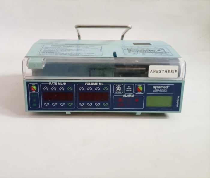 Syramed sp6000 Syringe infusion pump